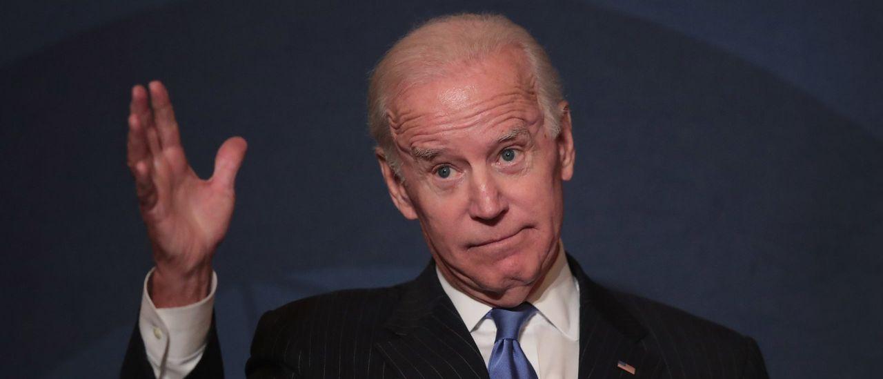 Why Biden tells a reporter