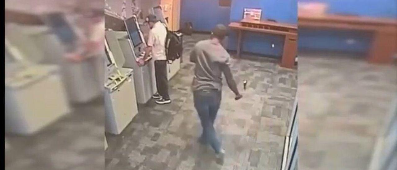 Graphic Video Shows Footage Of Brutal Hatchet Attack Near Manhattan ATM