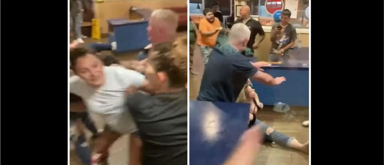 People At An IHOP In Texas Get In An Unreal Fight In Viral Video