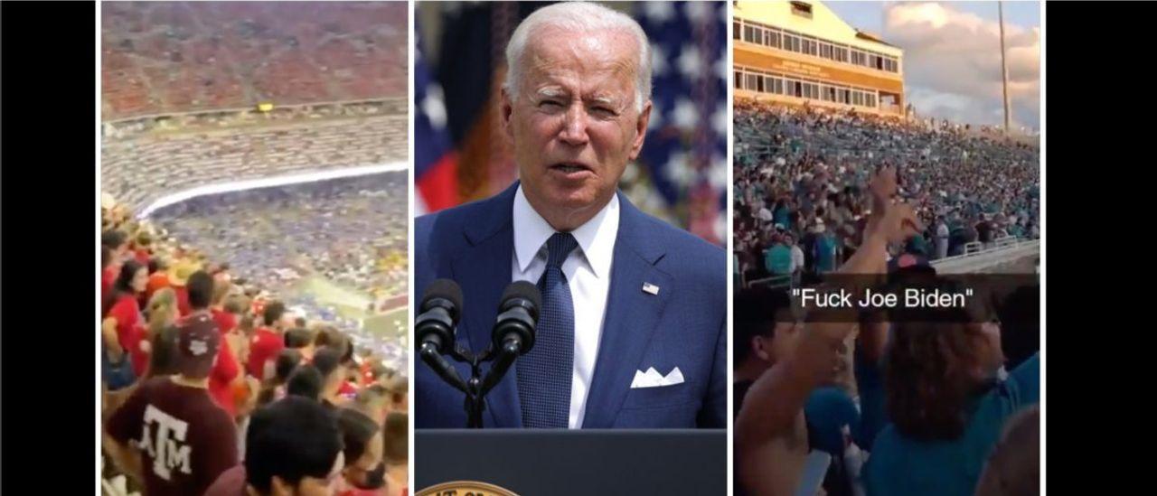 "College Football Fans Chant ""$%^& Joe Biden"" at Multiple Games on Saturday"