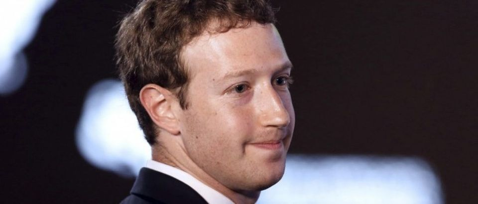 File photo of Facebook CEO Zuckerberg during the II CEO Summit of the Americas on the sidelines of the VII Summit of the Americas in Panama City