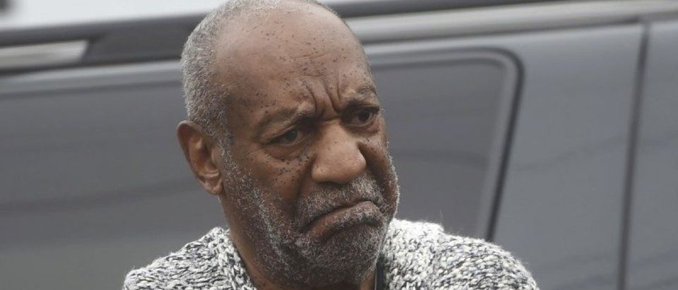 Actor and comedian Bill Cosby arrives for his arraignment on sexual assault charges at the Montgomery County Courthouse in Elkins Park, Pennsylvania