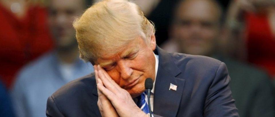 Presidential candidate Donald Trump (REUTERS/Jonathan Drake)