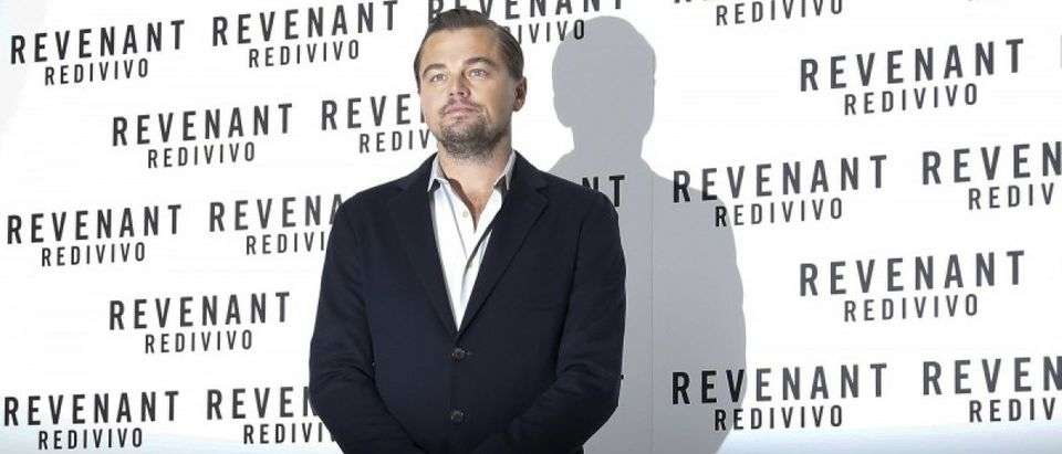 "Cast member Leonardo DiCaprio poses during a photo call for the movie ""The Revenant"" in Rome, Italy January 16, 2016. REUTERS/Tony Gentile"