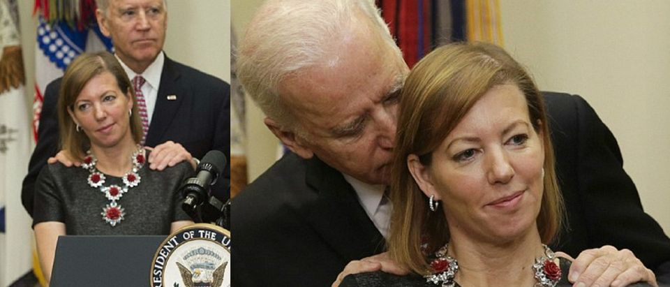 Biden gives a special rub AFP/Getty Images, Reuters