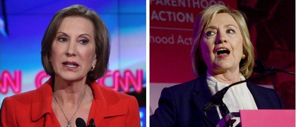Carly Fiorina And Hillary Clinton