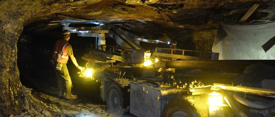 Mining equipment in the St. Clarsville, Ohio. Photo by Joseph Hammond/The Daily Caller News Foundation.