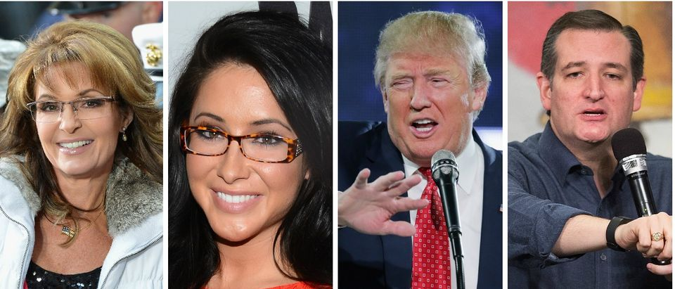 Did Bristol Palin Tip Her Mom's Hand About Endorsing Donald Trump Instead of Ted Cruz [Images via Getty]