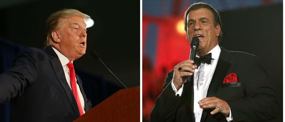 'Die Hard' Actor Robert Davi Donald Trump Is The Last Hope For America [images via Getty]