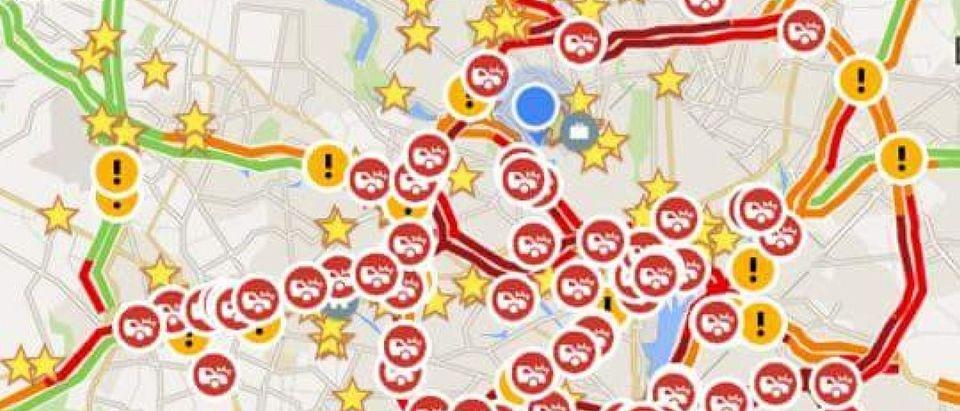 DC traffic meltdown [Google images]