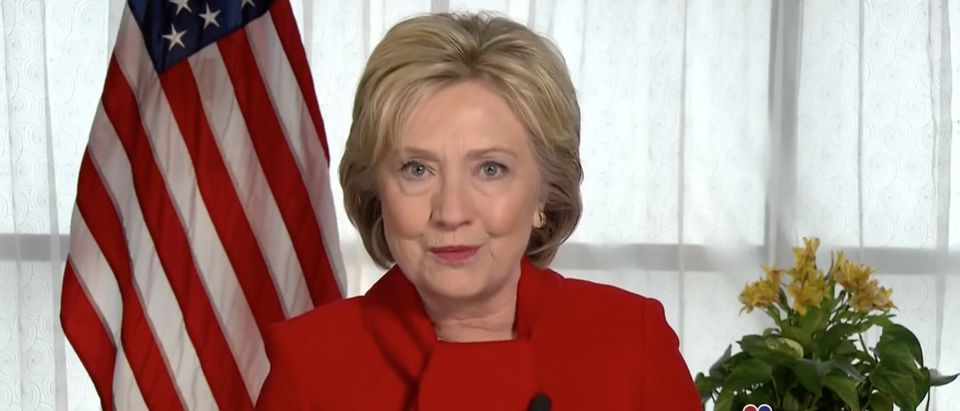 Hillary Clinton: 'I'm Not Concerned' About The FBI Investigation My Private Server [screen shot NBC]