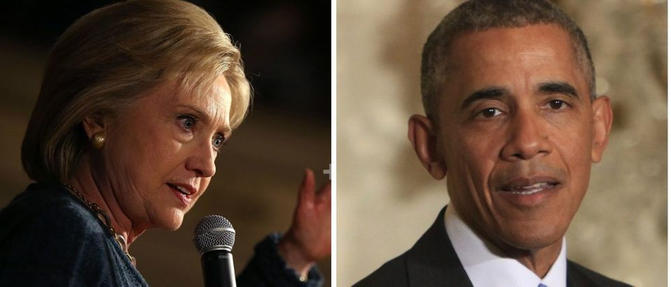 Hillary Clinton Thinks It's A 'Great Idea' To Appoint Obama To The Supreme Court [images via Getty]
