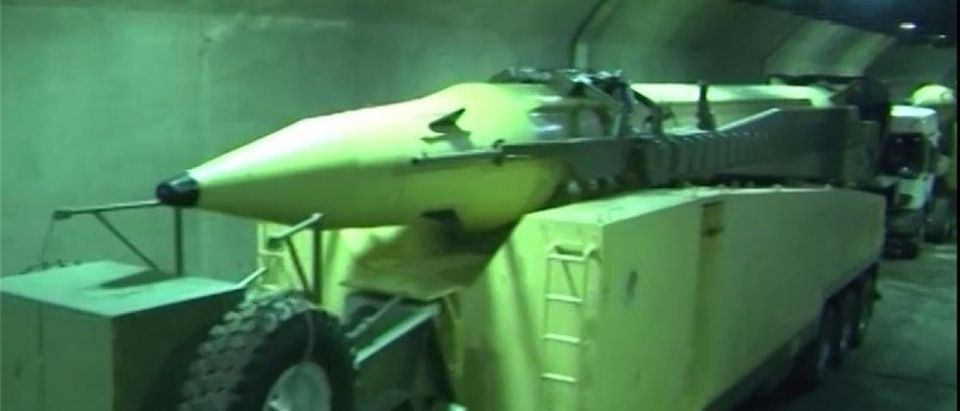 Iran Media Unveils Underground Facility