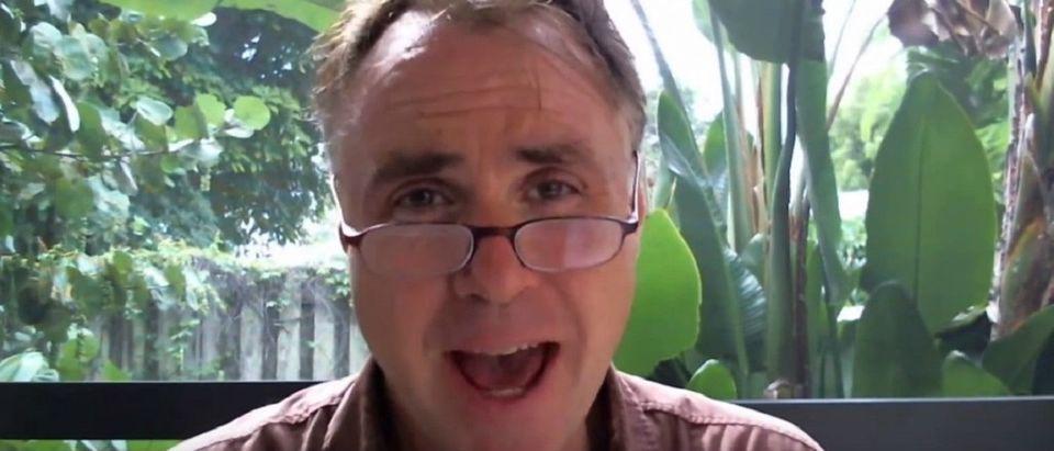 James Tracy YouTube screenshot/dzac01