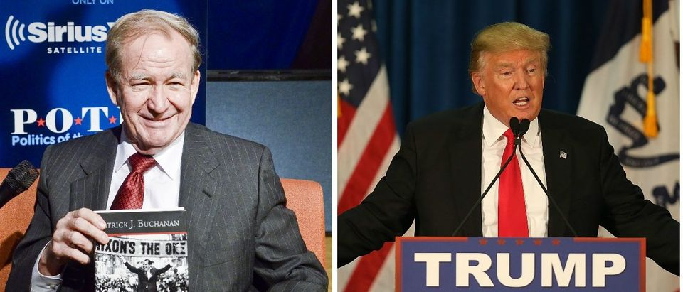Pat Buchanan Supports Trump's Backing Out Of Fox News Debate [images via Getty]