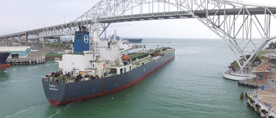 Port of Corpus Christi exports crude oil