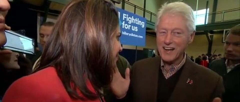 Bill Clinton Gives Nonsensical Answer When Asked If His Sex Life Is 'Fair Game' (screenshot: ABC)