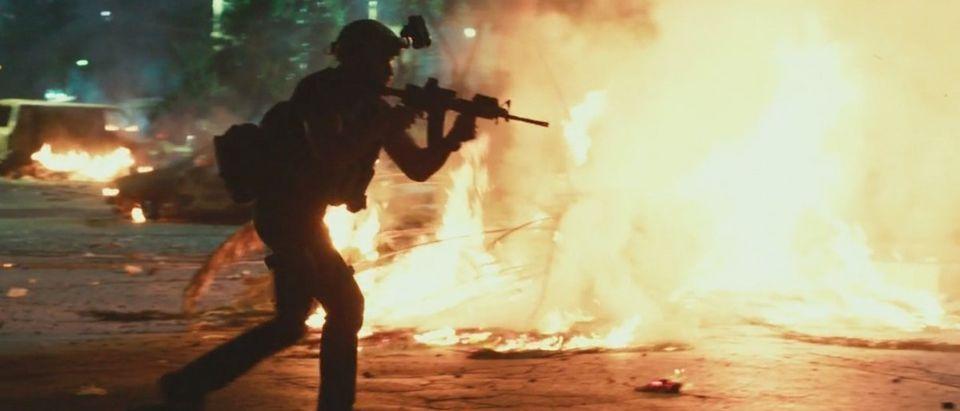 Benghazi (Credit: Screenshot/ Vimeo Michael Bay)