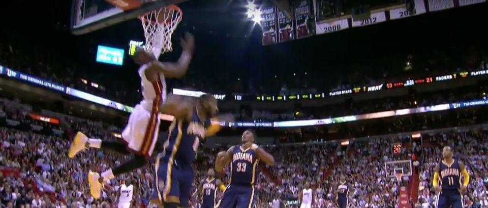 Dwyane Wade (Credit: Screenshot/Youtube NBA)