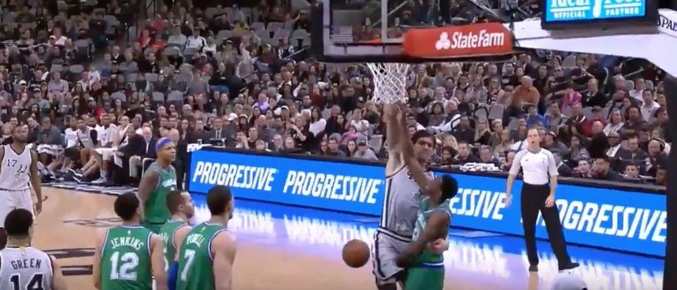 Boban Marjanovic (Credit: Screenshot/Youtube NBA)