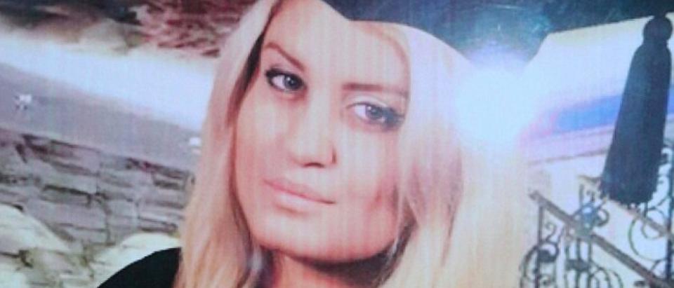 Alexandra Mezher, 22, was murdered by a refugee in Sweden Monday. (Facebook)
