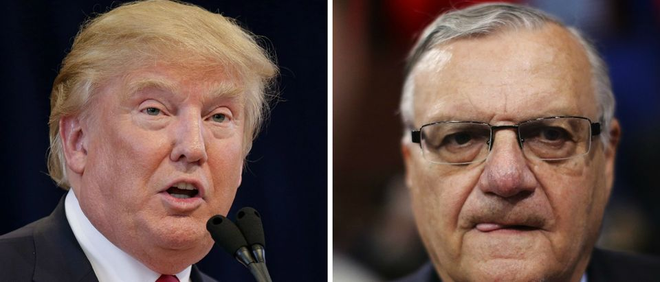 Sheriff Joe Arpaio Endorses Donald Trump [images via Getty]