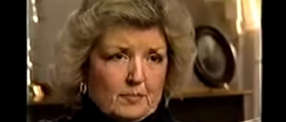 "Juanita Broaddrick told her story of allegedly being raped by Bill Clinton in a 1999 interview with ""Dateline."" (Youtube screen grab)"