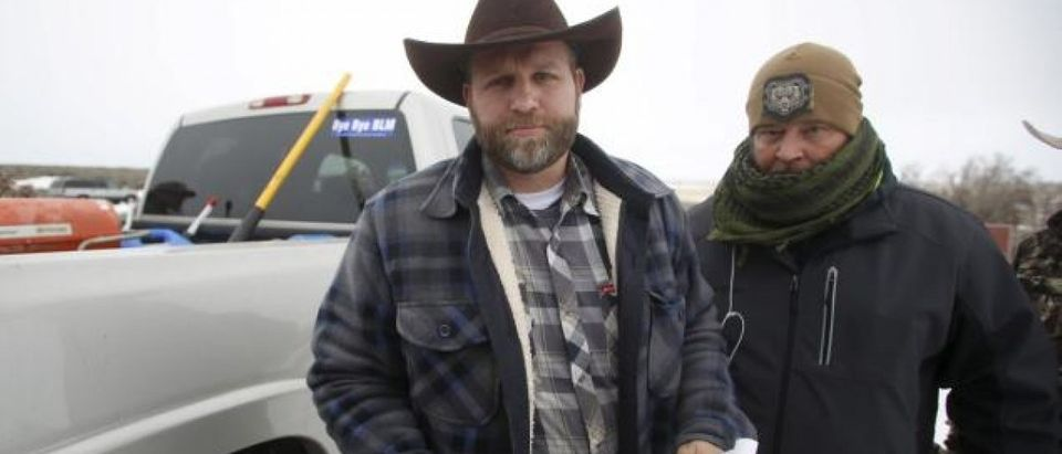 JIM URQUHART/REUTERS Ammon Bundy, the mastermind behind the takeover of the Malheur National Wildlife Refuge near Burns, Ore., recently compared himself and his militia to Rosa Parks.