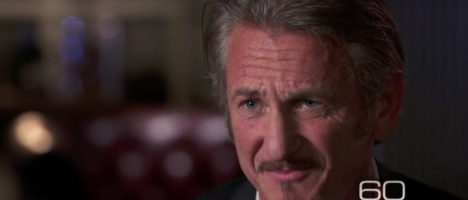 Sean Penn regrets interview with El Chapo. (Photo: 60 Minutes screen grab)