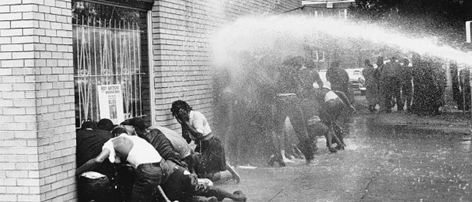 segregation protest Birmingham Alabama 1963 Getty Images/Michael Ochs Archives