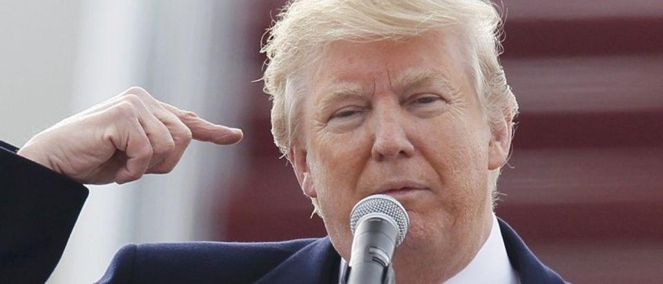 U.S. Republican presidential candidate Donald Trump (REUTERS/Rick Wilking)