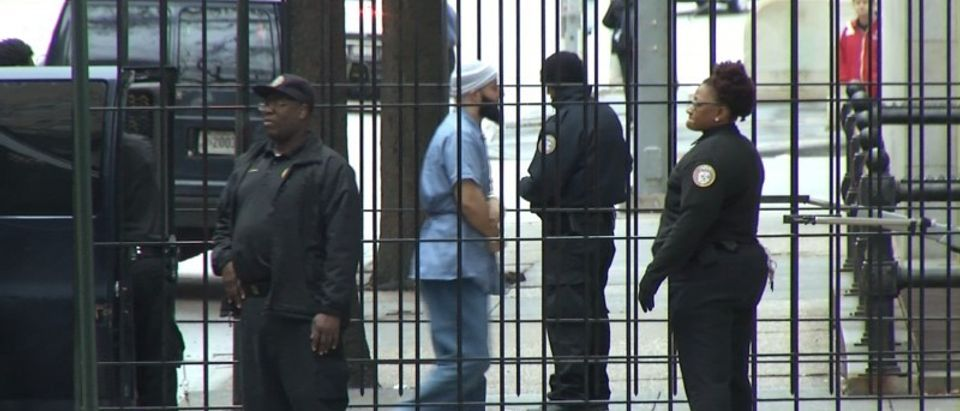 Adnan Syed is brought into Baltimore City Circuit Court in Baltimore