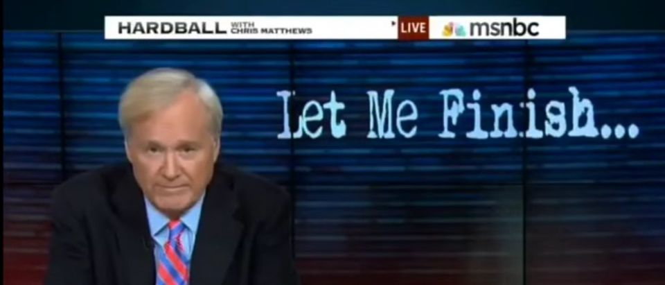 Chris Matthews Utterly Fails At Predicting The Epic Failure Of Rand Paul's Presidential Campaign [screen shot YouTube]