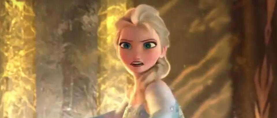 Frozen YouTube screenshot/Movieclips Trailers