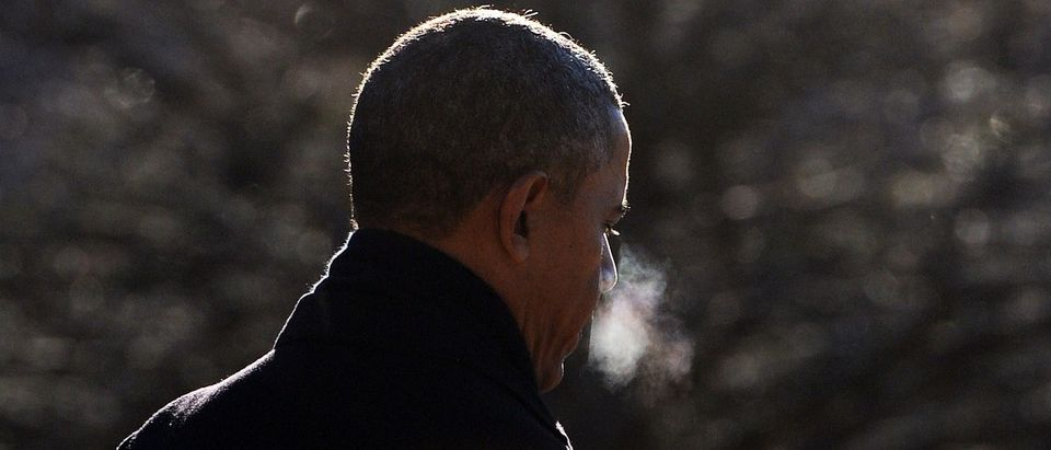 US President Barack Obama walks to board Marine One as he leaves from the White House in Washington, DC, on January 30, 2014 en route to Milwaukee, Wisconsin. Obama hit the road to prolong the impact of his State of the Union promise to act to cut the gap between the rich and poor. AFP PHOTO/Jewel Samad (Photo credit should read JEWEL SAMAD/AFP/Getty Images)