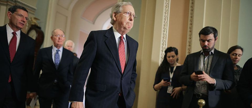 Reid's Deputy Chief Of Staff: 'McConnell Will Back Down' Over SCOTUS Nomination (Getty Images)
