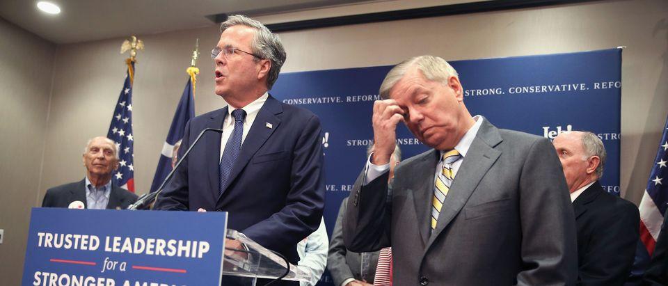 Former Presidential Candidate Sen. Lindsey Graham Endorses Gov. Jeb Bush
