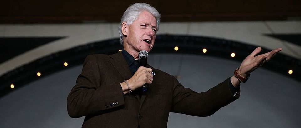 Bill Clinton Says San Bernardino Terrorists 'Had Never Been To The Middle East' (Getty Images)