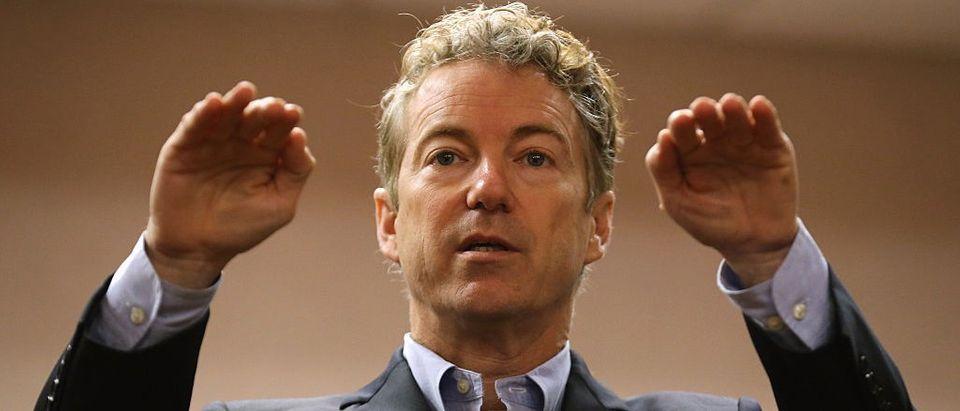 Kentucky Republican Sen. Rand Paul