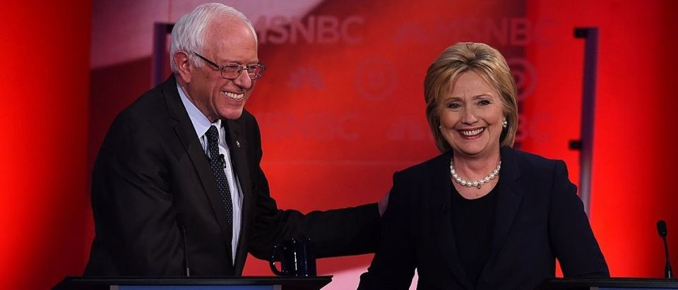 Poll: Clinton Falls Behind Sanders For First Time Nationally (Getty Images)