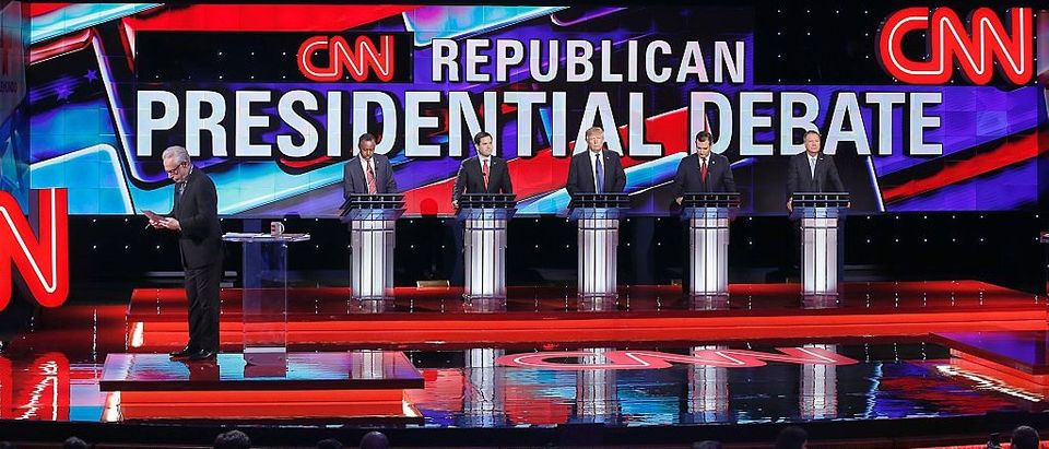 For Some Reason CNN & Telemundo Won't Let You Watch The Whole Thursday Night Debate Online (Getty Images)