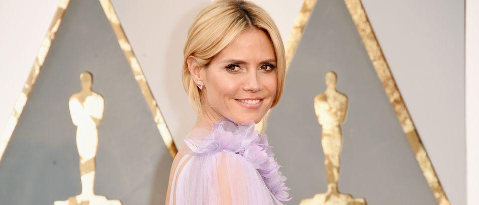 Heidi Klum's Oscars dress