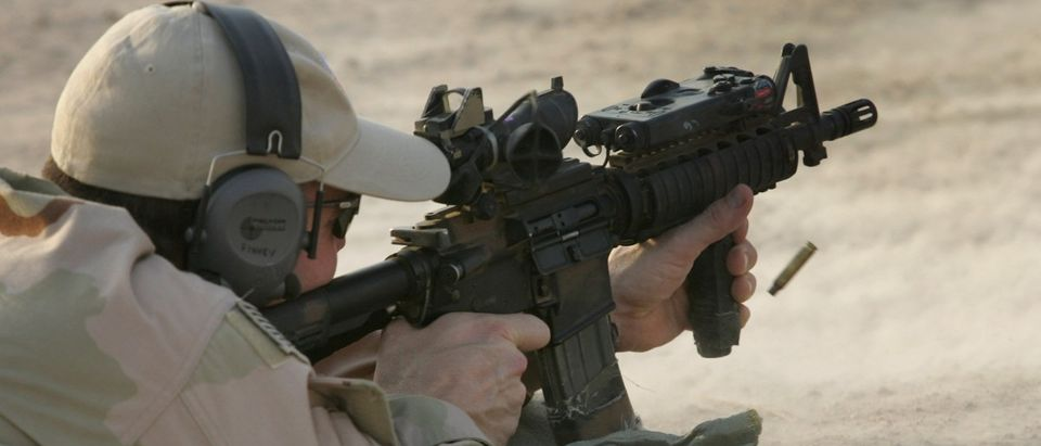 U.S. Navy SEALS Train Iraqi Army Scouts In Fallujah