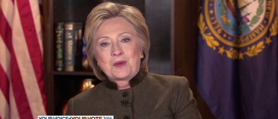 Hillary Clinton, Screen shot ABC's This Week