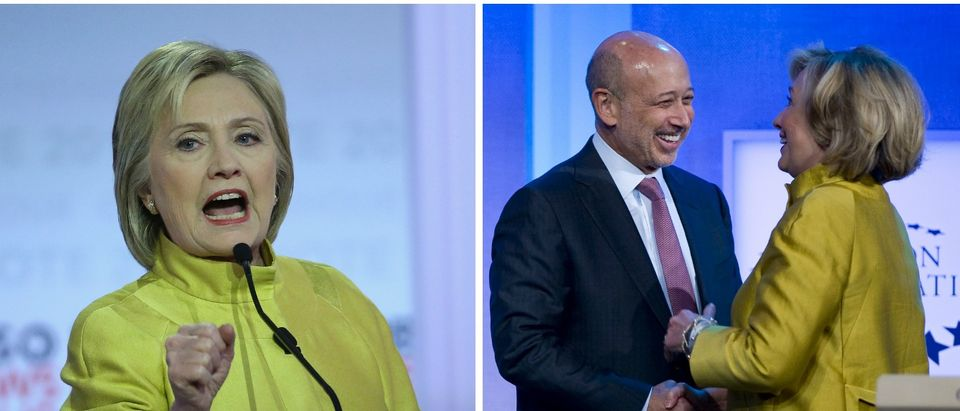 Hillary Clinton and CEO of Goldman Sachs, Debate and Clinton Foundation