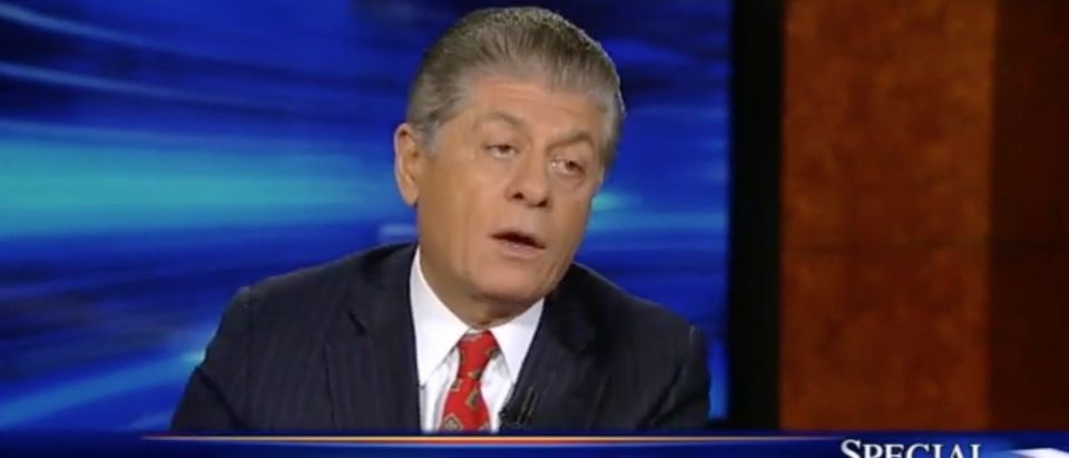 Judge Andrew Napolitano, screen shot Fox News