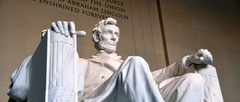 Detail of the Lincoln Memorial statue in Washington D.C. - Photo by Kevin Burkett on Flickr