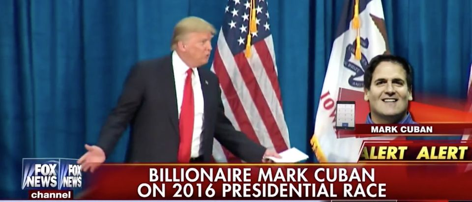 Mark Cuban Says Trump Is Taking Advantage Of 'Keep It Simple, Stupid' To Succeed [screen shot Fox News]
