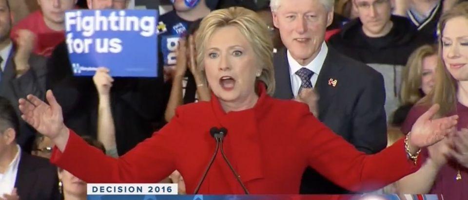 NBC's Lauer: 'Near-Death Experience' For Hillary In Iowa [screen shot NBC]