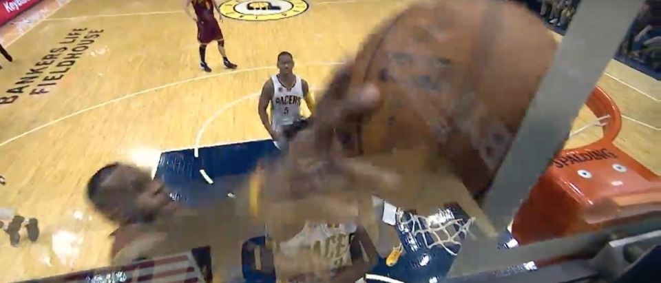 LeBron James (Credit: Screenshot/Youtube NBA)